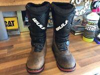 Childs trials boots Wulf wolfsport size 35 uk 2 1/2