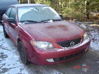 2001 Mazda MAZDASPEED 2l Protegé Berline