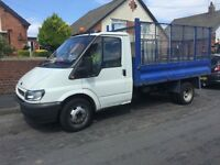 For transit tipper 125bhp 2004