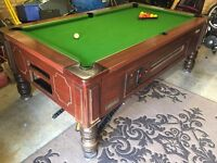 Pool table- league spec