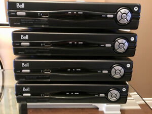 Bell Fibe Whole Home PVR and 3 Receivers