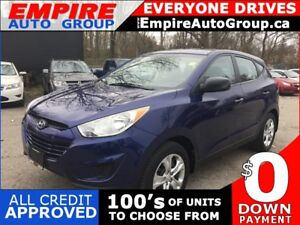 2013 HYUNDAI TUCSON GL * ONE OWNER * POWER GROUP * LOW KM
