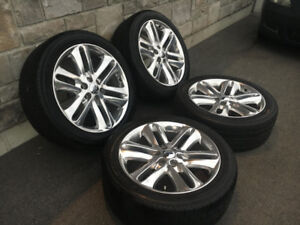 Wow 4 mags et pneus 22'' de Ford F150 limited 2014 Super Rare!