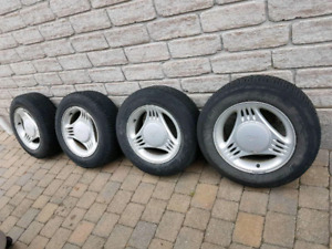 Tires and mags (Mustang)