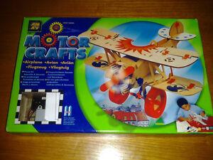 AMAV Motorcrafts Wooden Airplane Precut Kit  New