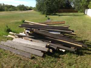 Free Wood - Pick up this week