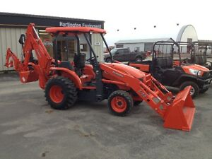 KUBOTA INDUSTRIAL TRACTOR/LOADER/BACKHOES