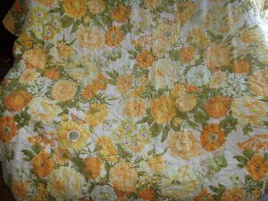 Yellow Bedspread