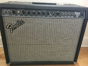 Amplificateur fender deluxe 112 plus