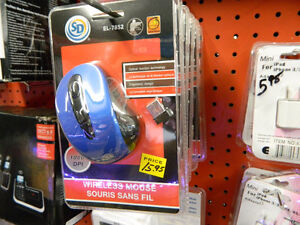 Wireless Mouse - Red or Blue