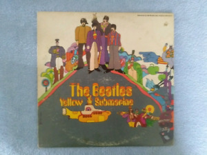 Beatles Yellow Submarine LP Record