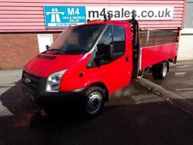 Ford Transit 350 LWB S/C DROPSIDE WITH TAIL LIFT