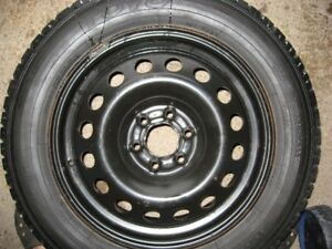 4-225/60/17 Toyo Observe winter tires on GM 6bolt rims.