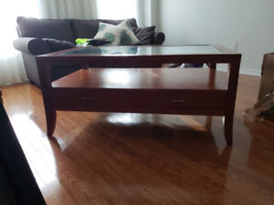 Ethan Allan Coffee table and matching end table