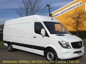 2014/ 14 Mercedes Sprinter 316Cdi Lwb High Roof [ Tail Lift+ A/Con ] panel van
