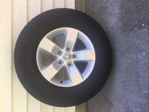"Dodge Tires and Rims - P265/70R17 Goodyear SR-A / 17"" Rims  $450"