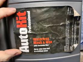 Auto kit waterless wash and wax