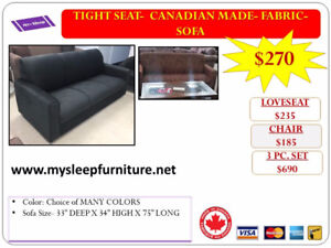 BRAND NEW- SOFAS, LOVESEATS, ACCENT CHAIRS- WE DELIVER