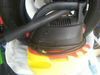 WET -  DRY  VACUUM (STINGER) In good condition.