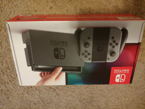 Nintendo Switch Grey Edition ! UNOPENED! BRAND NEW!