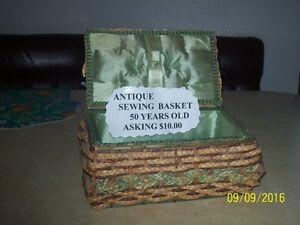 Antique Sewing Box Prince George British Columbia image 2