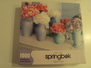 Springbok 1000 Piece Jigsaw Puzzle – Floral Reflections