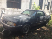 1988 FORD MUSTANG 5.0L AUTOMATIC CONVERTIBLE