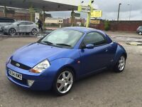 DEAL OF THE DAY! FORD STREET KA CONVERTIBLE SPORT- 1 YEARS MOT- HARD ROOF INCLUDED FREE OF CHARGE