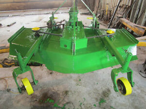 60 inch 3point hitch finishing mower 3 blade