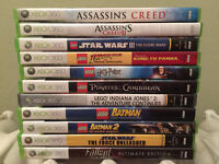 Various Used Xbox 360 Games - Including LEGO