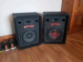 GEMINI INTRUDOR PA Speakers