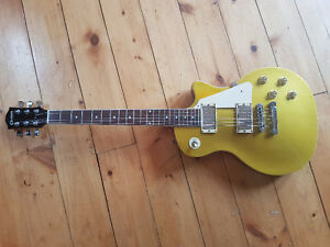 Crafter Les Paul Goldtop Electric Guitar Kitchener / Waterloo Kitchener Area image 1