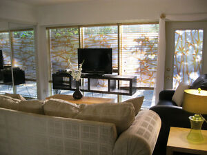 Gorgeous Executive Fully Furnished 1 Bdrm Suite.....Own Laundry!