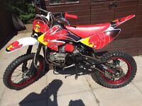 Stomp 155z crf70 pitbike pit bike