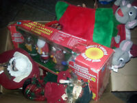 CHRISTMAS BOX LOADED WITH INDOOR DECO ONLY!