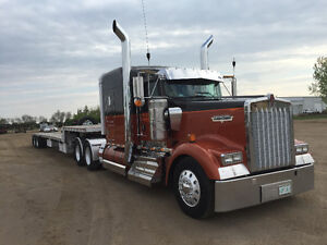 Truck and trailer for sale.