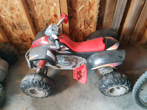 Power  wheels  quad