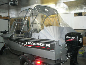 TRACKER PROV 16FT 50 HP MERCURY EXCELLENT CONDITION