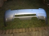 Bmw M3 e90 sedan 4 door genuine rear bumper in very good condition only small scratches