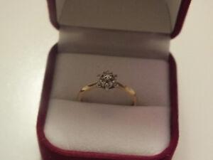 Diamond Ring 10K