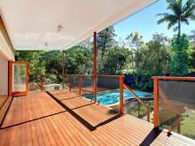 Stunning near new house with pool and sun drenched deck. Norman Park Brisbane South East Preview