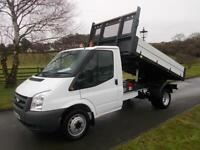 FORD TRANSIT 350 100PS TIPPER 61 REG 65,700 MILES SIX SPEED