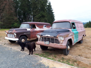 1955 & 1957 Chevrolet Panel Projects - ESSO IMPERIAL HISTORICAL