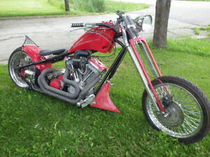 custom motorcycle 2007