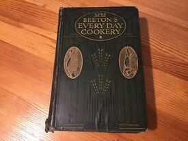 Antique Mrs Beetons Book.