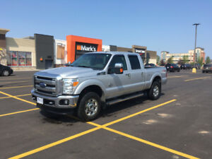 2015 Ford F350 XLT 4X4 with the 6.7 V-8 Power Stroke Diesel