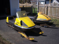 1970 SKIDOO NORDIC (BEEN STORED IN A BARN FOR THE LAST 25 YEARS)