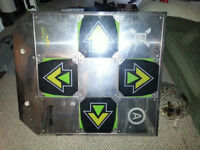 2 Dance Dance Revolution Machines with ps2, microphones, games