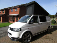 2012 VW T5 T28 Transporter 4 Berth Pop Top Campervan For Sale Ref 11241