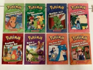 Pokémon classic collection - 8 novels - Brand new